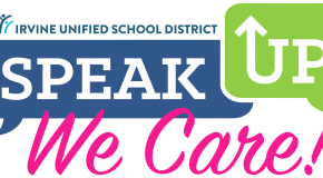 Speak Up, We Care logo