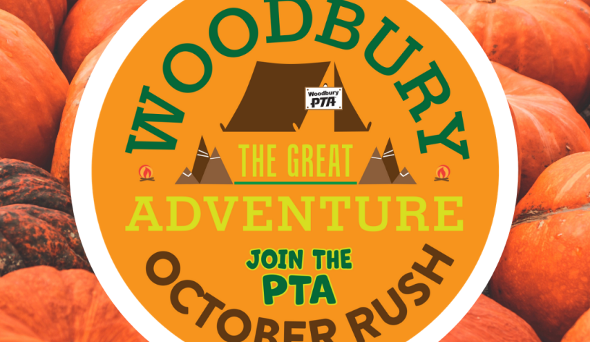 Pumpkins and Woodbury October Rush Badge
